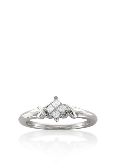 Belk & Co. 1/5 ct. t.w. Diamond Promise Ring in 10k White Gold