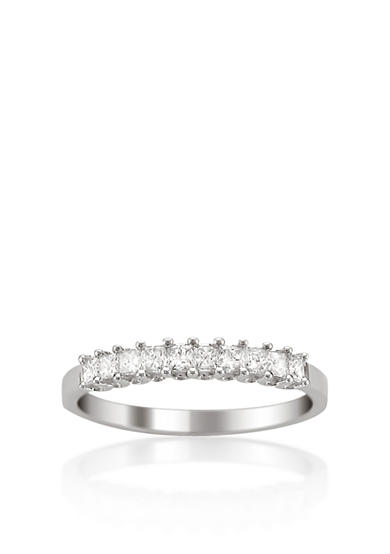 Belk & Co. 1/2 ct. t.w. Diamond Wedding Band in 14k White Gold