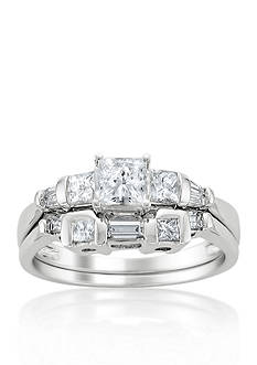 Belk & Co. 1 ct. t.w. Diamond Bridal Ring Set in 14k White Gold