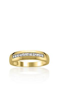 Belk & Co. 1/2 ct. t.w. Men's Diamond Wedding Band in 14k Yellow Gold