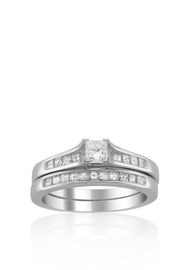 Belk & Co. 7/8 ct. t.w. Diamond Bridal Ring Set in 14k White Gold