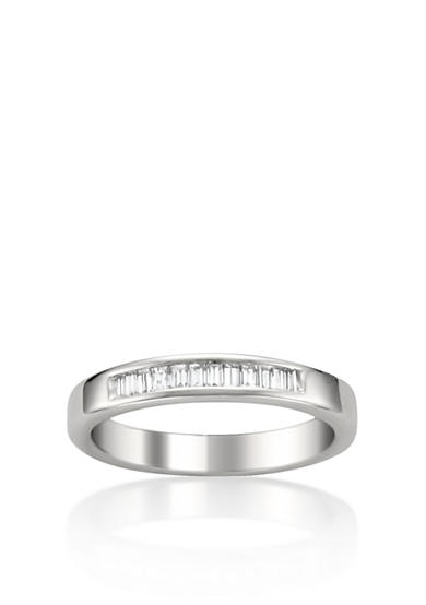 Belk & Co. 1/4 ct. t.w. Diamond Wedding Band in 14k White Gold