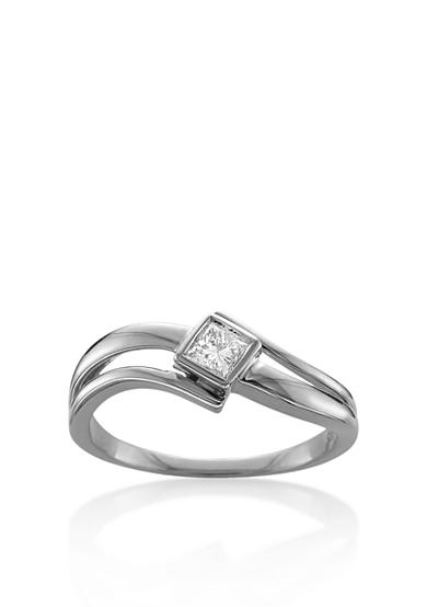 Belk & Co. 1/5 ct. t.w. Solitaire Diamond Engagement Ring in 14k White Gold