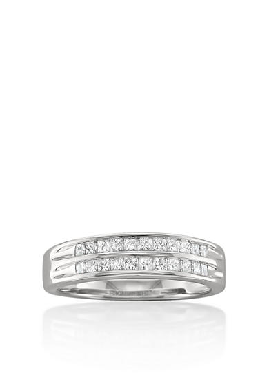 Belk & Co. 1/2 ct.t.w. Diamond Wedding Band in 14k White Gold