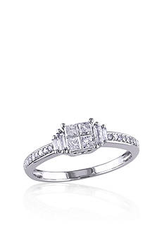 Belk & Co. 1/2 ct. t.w. Diamond Promise Ring in 10k White Gold