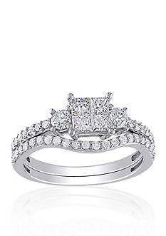 Belk & Co. 1 ct. t.w. Diamond Bridal Set in 14k White Gold