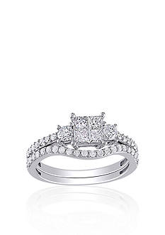 Belk & Co. 1 ct. t.w. Diamond Bridal Set in 14k White Gold
