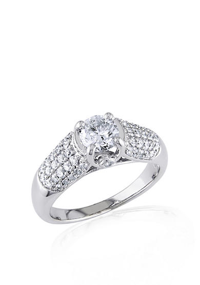 Belk & Co. 1.25 ct. t.w. Diamond Engagement Ring in 14k White Gold