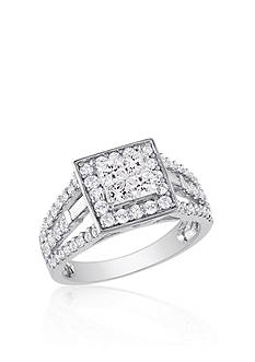 Belk & Co. 1.50 ct. t.w. Diamond Engagement Ring in 14k White Gold