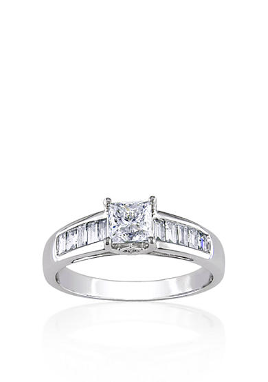 Belk & Co. 1 ct. t.w. Diamond Engagement Ring in 14k White Gold<br>