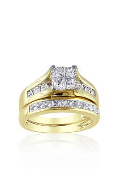 Belk & Co. 2 ct. t.w. Diamond Bridal Ring Set in 14k Yellow Gold