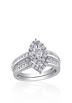 Belk & Co. 1.50 ct. t.w. Diamond Bridal Set in 14k White Gold