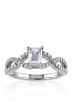 Belk & Co. 7/8 ct.t.w. Diamond Engagement Ring in 14k White Gold
