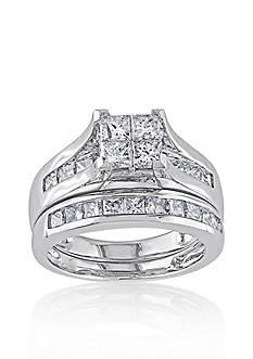 Belk & Co. 2 ct. t.w. Diamond Bridal Ring Set in 14k White Gold