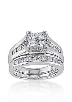 Belk & Co. 2 ct. t.w. Diamond Bridal Ring Set in 14k White Gold