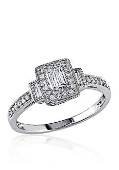 Belk & Co. 1/3 ct. t.w. Diamond Engagement Ring in 14k White Gold