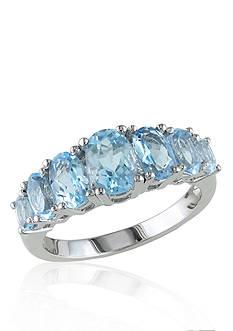 Belk & Co. Sterling Silver Blue Topaz Ring