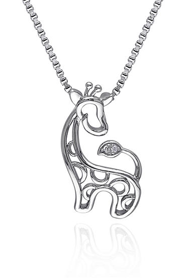 Belk & Co. Giraffe Pendant Necklace