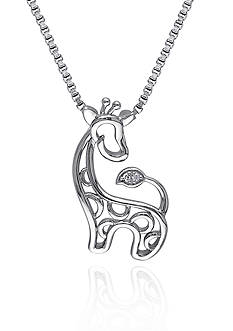 Belk & Co. Giraffe Pendant Necklace