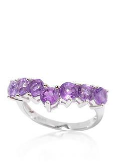 Belk & Co. Amethyst Ring in Sterling Silver