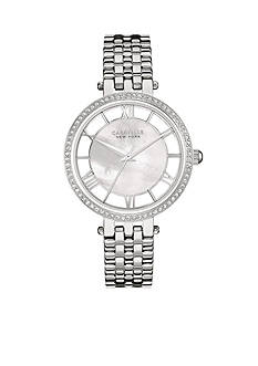 Caravelle New York Women's Stainless Steel Crystal Watch