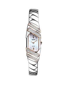 Women's Silver Seiko Tressia Solar Watch