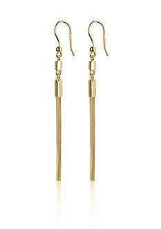 Argento Vivo Tassel Earrings in 18k Yellow Gold over Sterling Silver