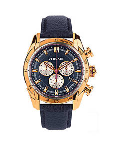 Versace Men's V-Ray Gold-Tone Chronograph Watch