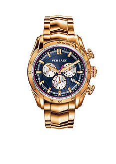 Versace Men's V-Ray Gold-Tone Watch