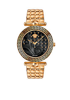 Versace Women's Vanitas Rose Gold-Tone Watch