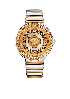 Versace Medusa Two-Tone Watch