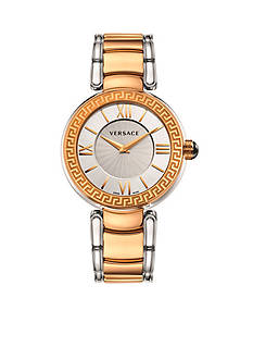 Versace Women's Leda Two-Tone Watch