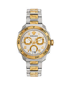 Versace Men's Dylos Two-Tone Watch