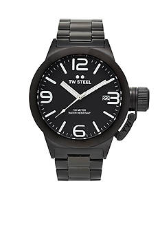 TW Steel Men's Black Bracelet Black Dial Watch