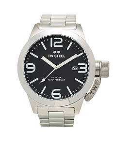TW Steel Men's Big Case Black Dial Watch