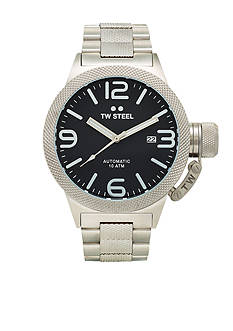 TW Steel Men's Automatic Black Dial Watch