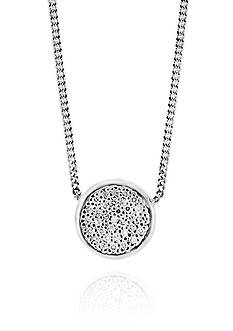 Effy® 0.09 ct. t.w. Diamond Pendant Necklace in Sterling Silver