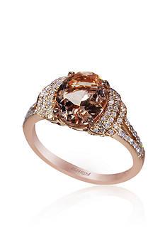 Effy Morganite and Diamond Ring in 14k Rose Gold