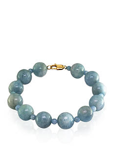 Effy Aquamarine Bead Bracelet