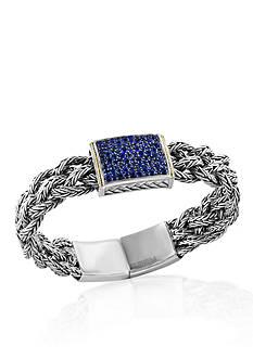 Effy Sapphire Bracelet in Sterling Sliver