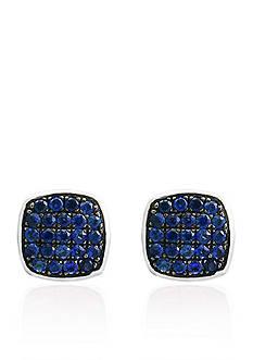 Effy Sapphire Stud Earrings in Sterling Silver