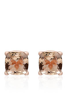Effy Morganite Studs in 14k Rose Gold