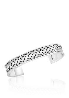 Effy Woven Cuff Bracelet in Sterling Silver