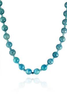 Effy Aquamarine Bead Necklace