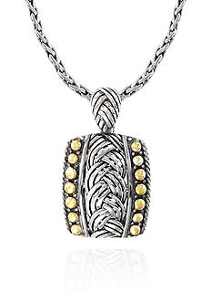 Effy® Pendant Necklace in Sterling Silver & 18K Yellow Gold