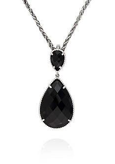 Effy® Onyx Pendant in Sterling Silver