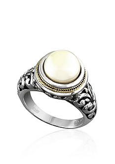 Effy® Round Freshwater Pearl Ring in Sterling Silver