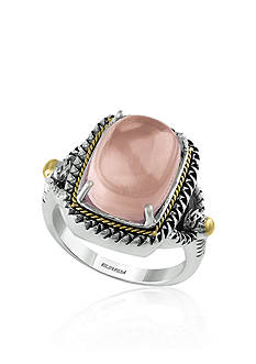 Effy Rose Quartz Ring in Sterling Silver