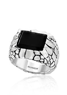 Effy Men's Ring in Sterling Silver