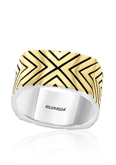 Effy® 18k Yellow Gold Plate in Sterling Silver Ring